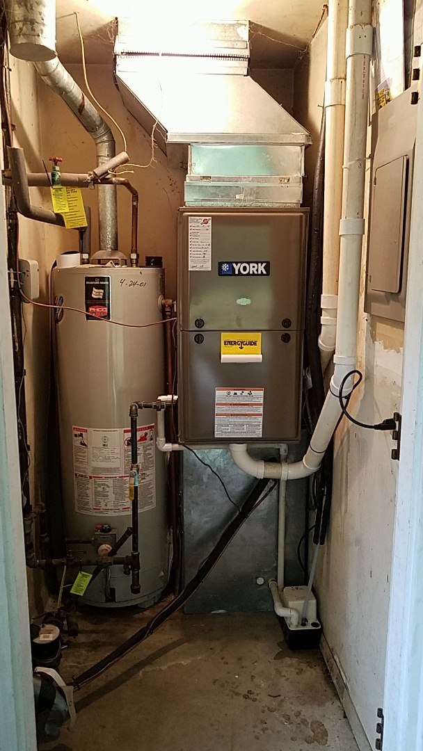 Englewood, OH - Installed new york furnace