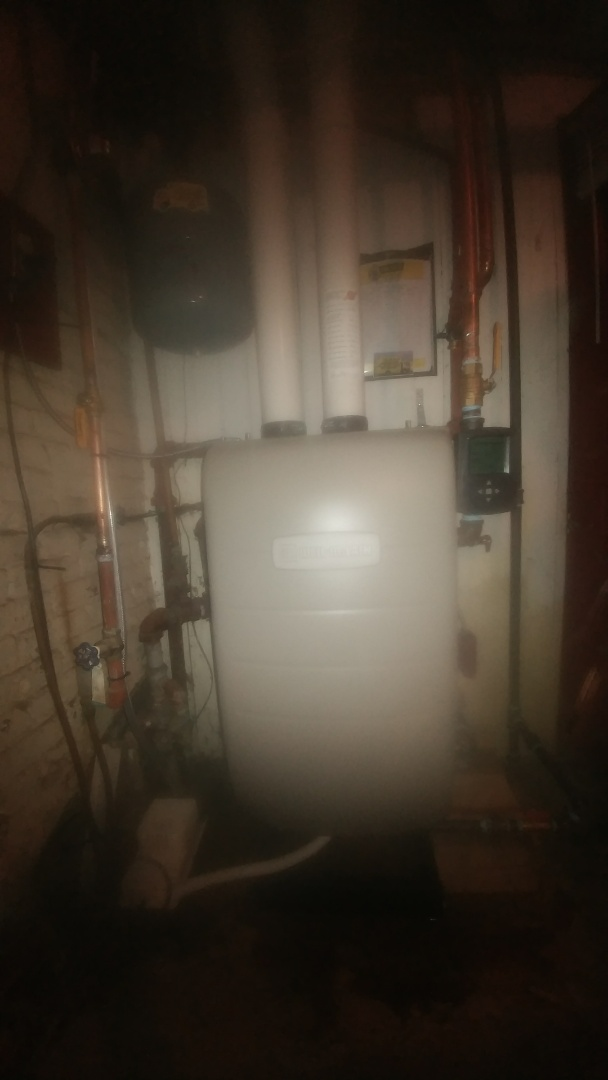 Farmersville, OH - Installed boiler