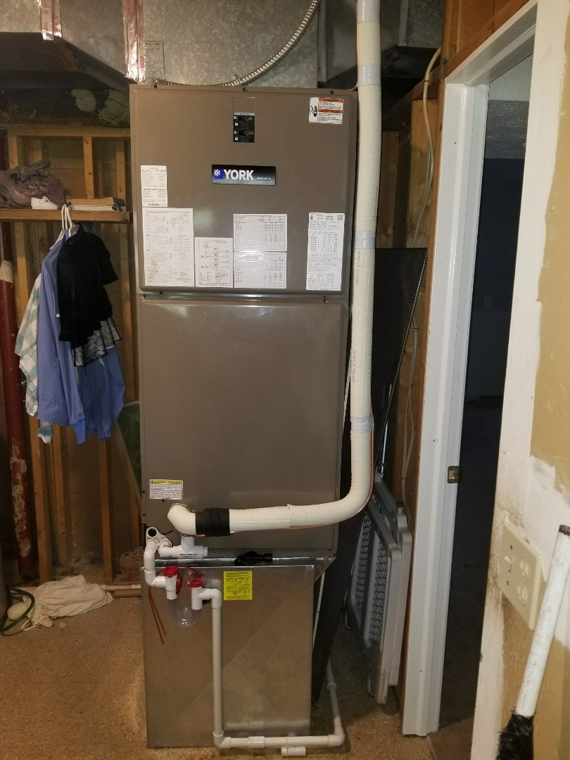 Miamisburg, OH - York full system heat pump and air handler