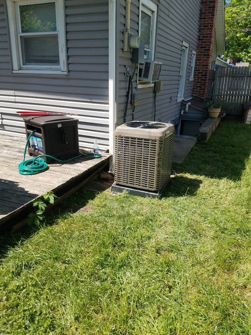 Miamisburg, OH - Installed new york air conditioner