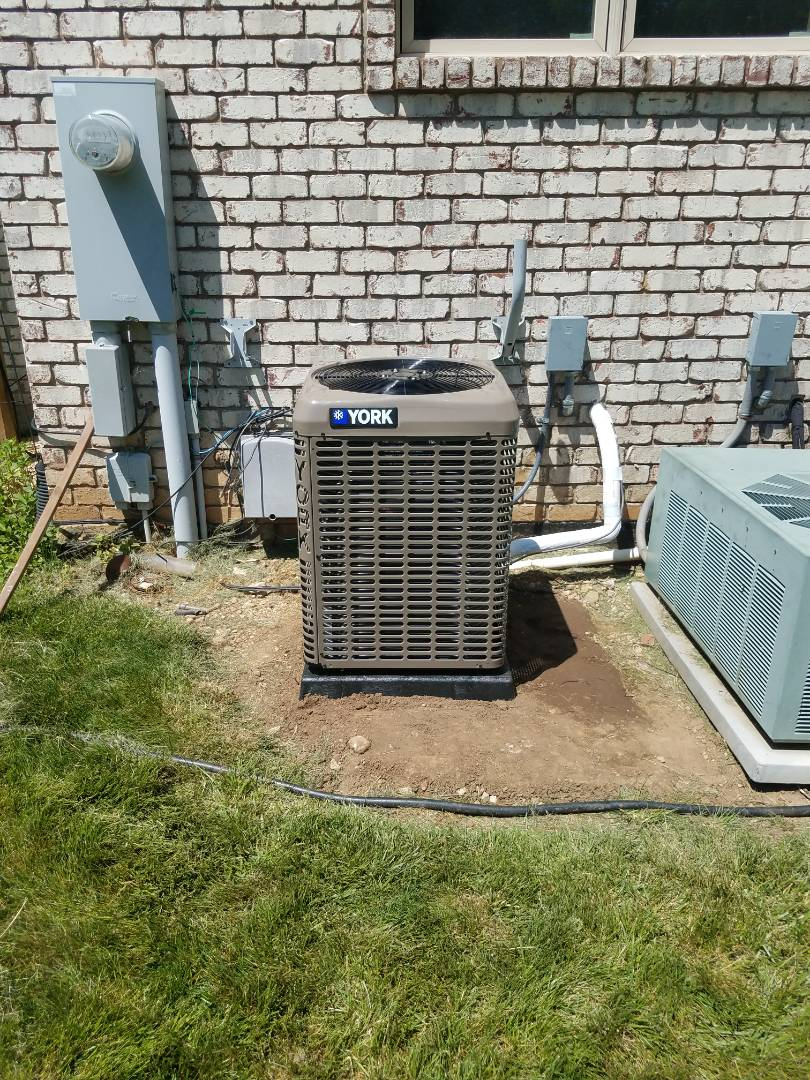 Springfield, OH - Installed new york air conditioner
