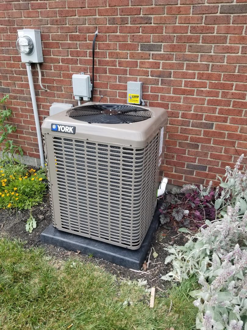 Springfield, OH - York 14 Seer ac and indoor coil