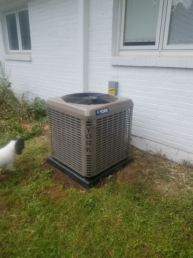 Dayton, OH - Installed new york furnace and air conditioning