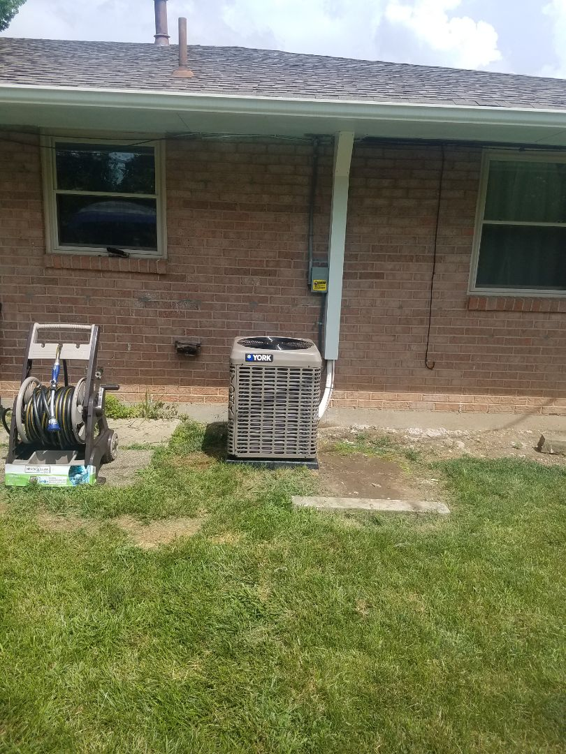 Huber Heights, OH - Installed new york air conditioning