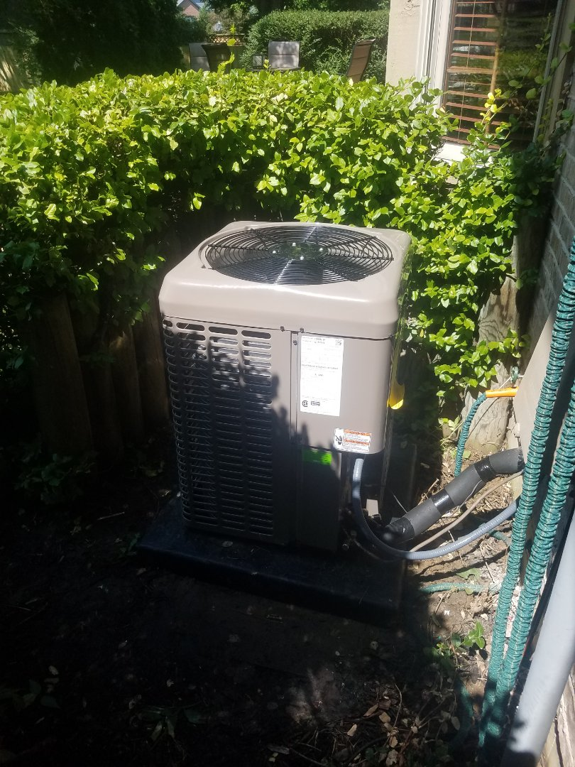 Dayton, OH - Installed new YORK air conditioning