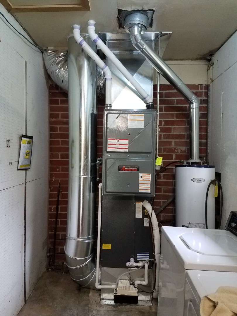 Oxford, OH - Amana 95% with ductwork