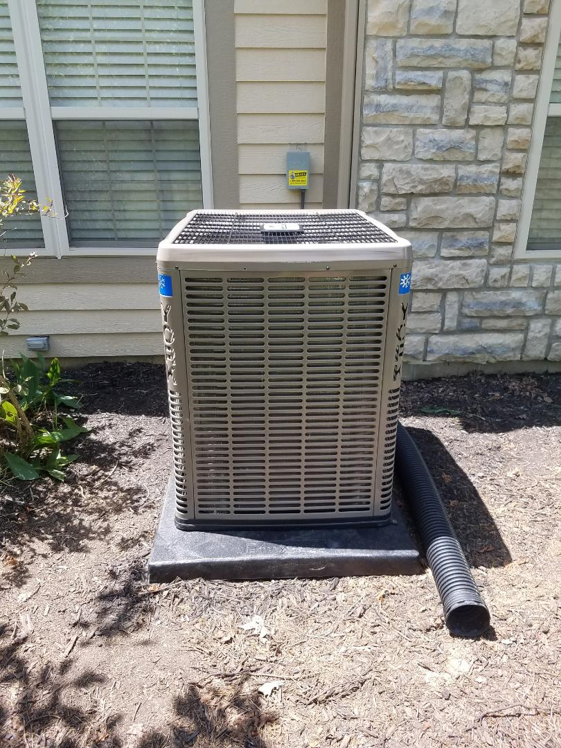 Installed new YORK modulating and air conditioning