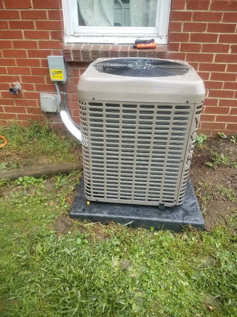 Eaton, OH - Installed new YORK air conditioning