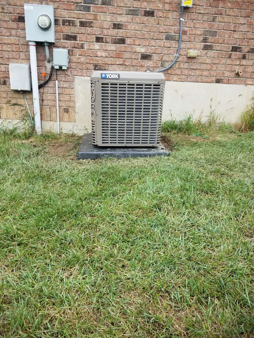 Miamisburg, OH - Installed new YORK air conditioning