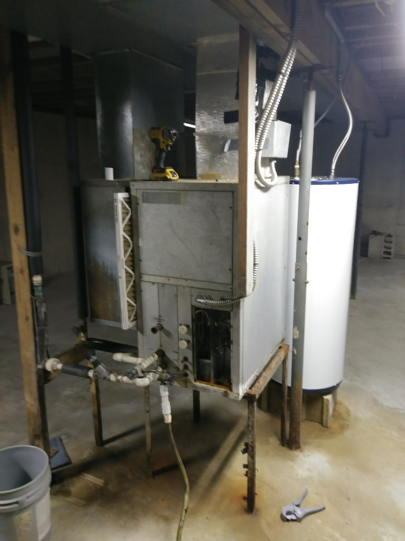 Camden, OH - Tear out existing geothermal..replacing wih new heat pump