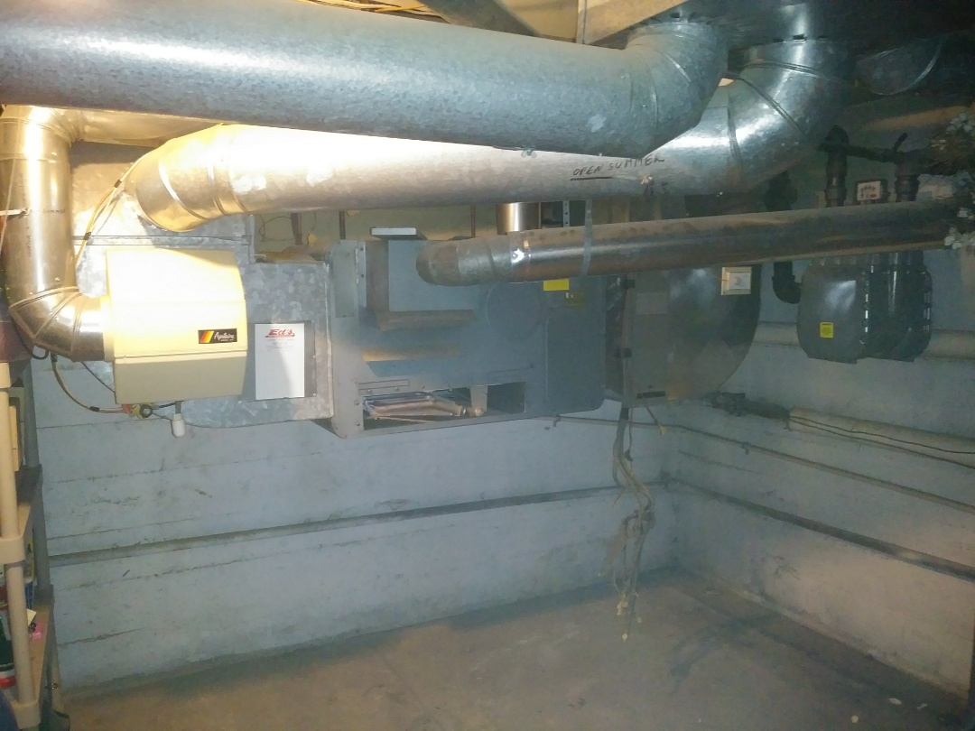 Dayton, OH - Tearing out 1955 gas unit and istalling new gas furnace