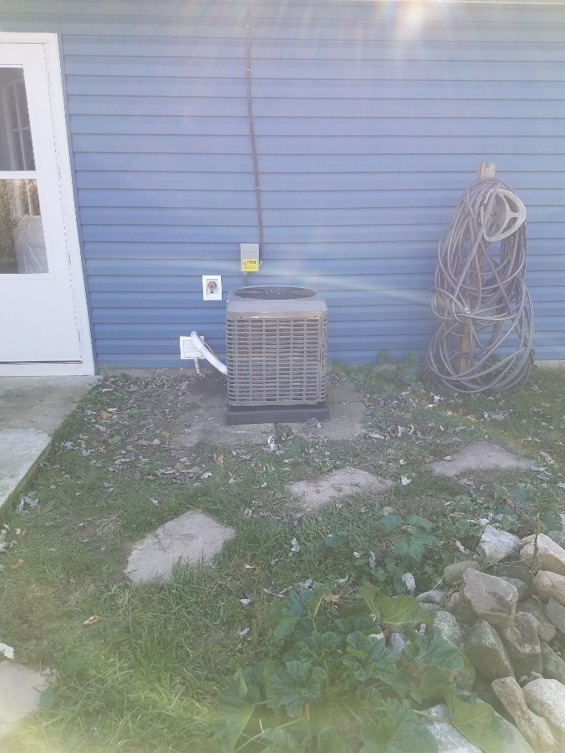 Springfield, OH - Installed new YORK air conditioning