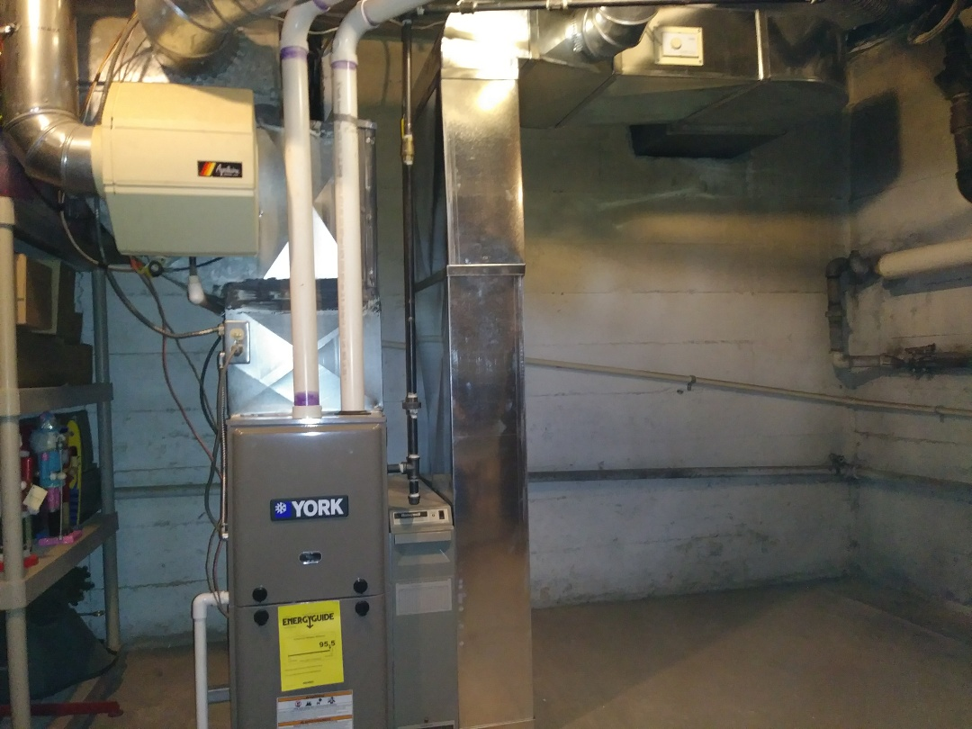 Dayton, OH - Installed new 90 percent gas furnace
