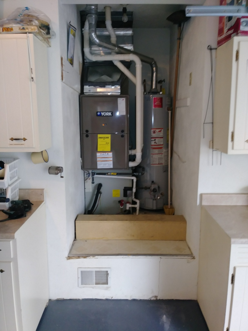 Eaton, OH - Installed new gas furnace