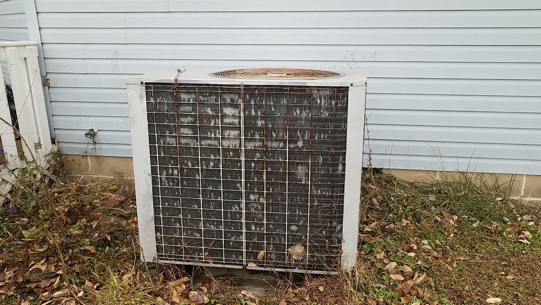 Eaton, OH - Removing old heat pump