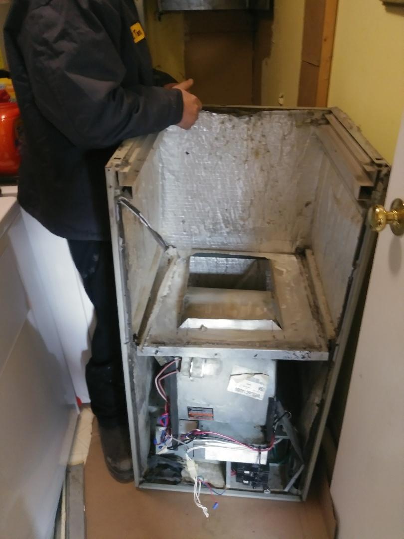 Centerville, OH - Install new 18 seer york heat pump