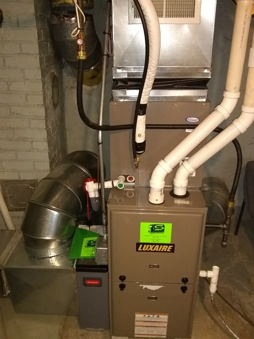 Kohler, WI - Luxaire AC Startup for customer.