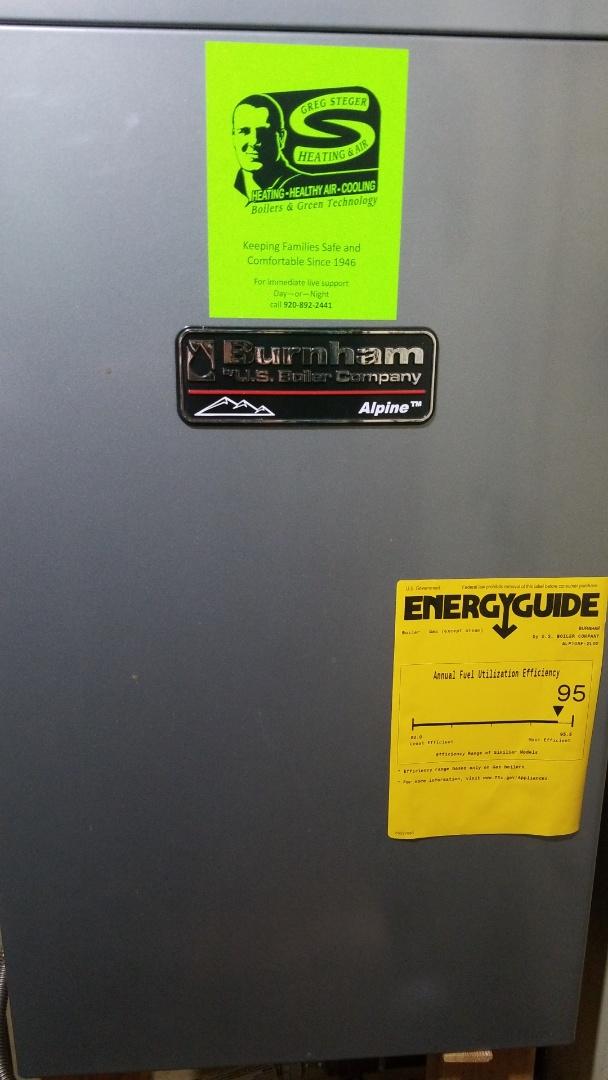 Plymouth, WI - Burnham Boiler Repair