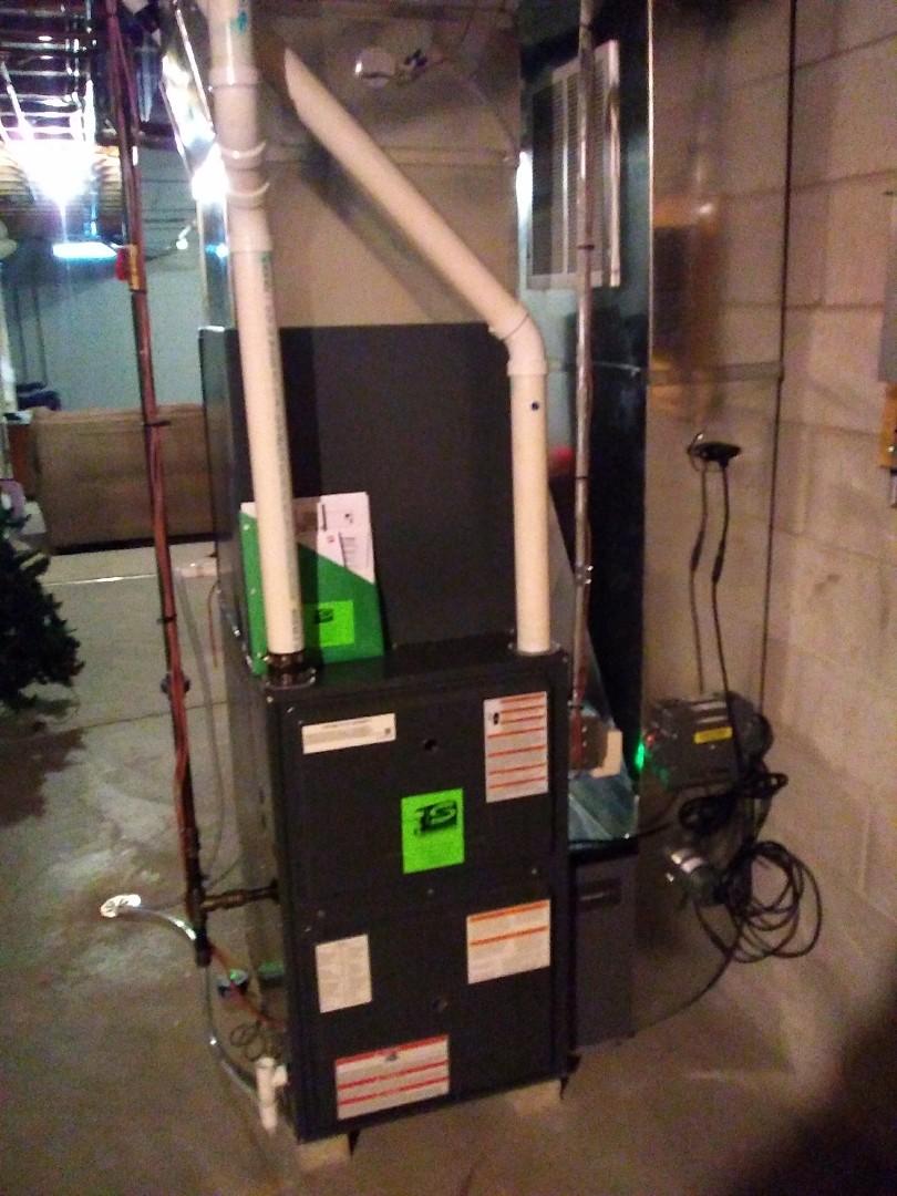 Sheboygan, WI - Furnace and AC Installation