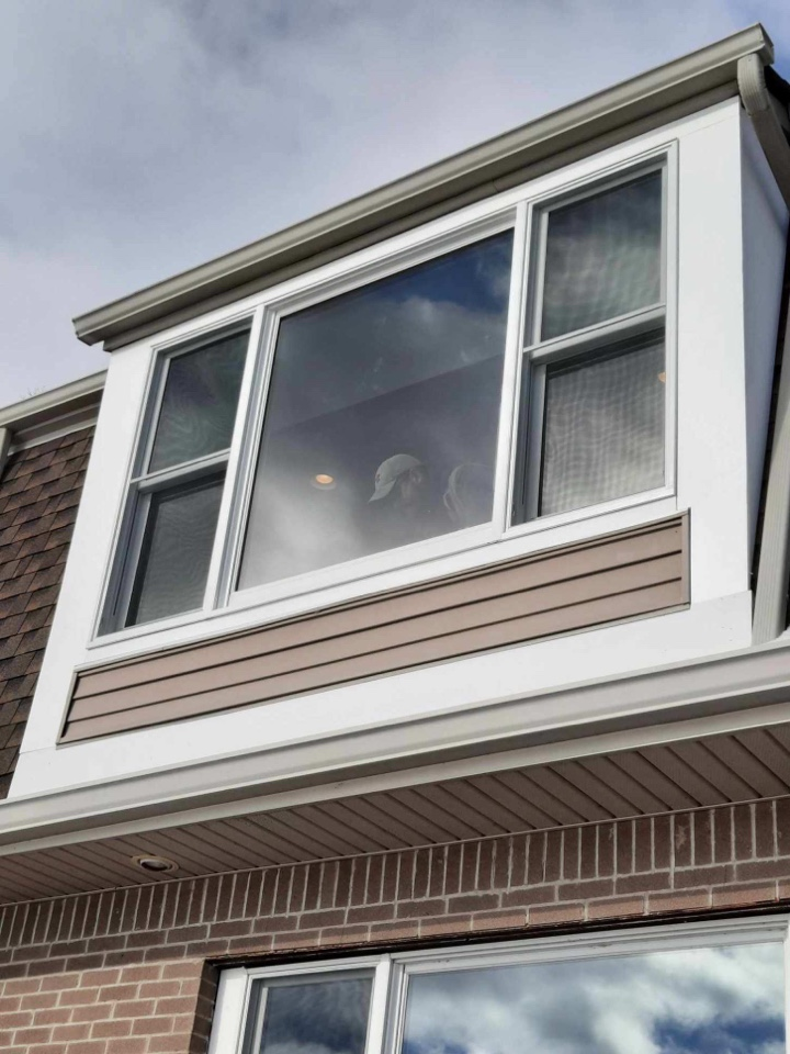 Andersen Picture window replaced Newton NJ