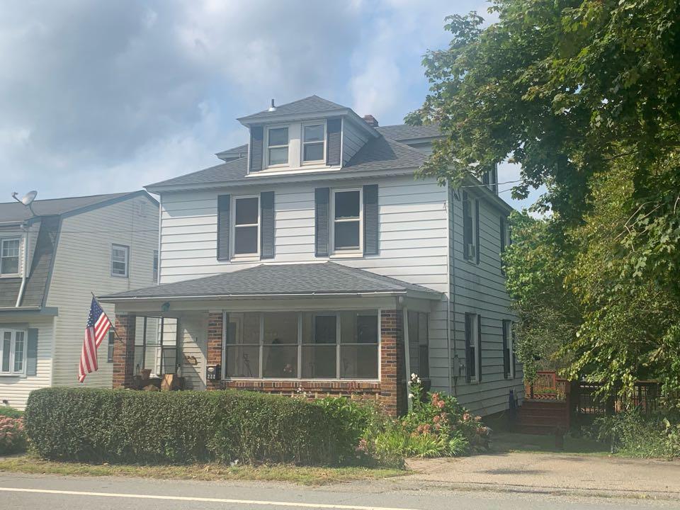 Roxbury Township, NJ - Completed Job in Landing, NJ. GAF Timberline HDZ - Pewter Grey Shingles
