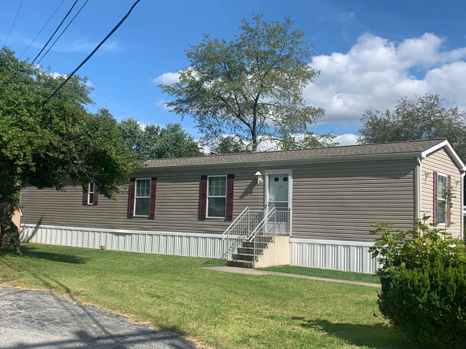 Lafayette, NJ - Completed Job in Lafayette, NJ. GAF Timberline HDZ - Weathered Wood Shingles. Both the main roof and the shed were re-done