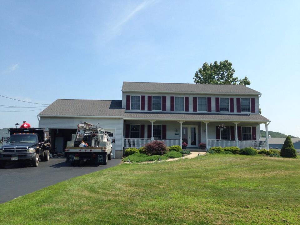 Lafayette Township, NJ - GAF timberline HD Williamsburg slate roof
