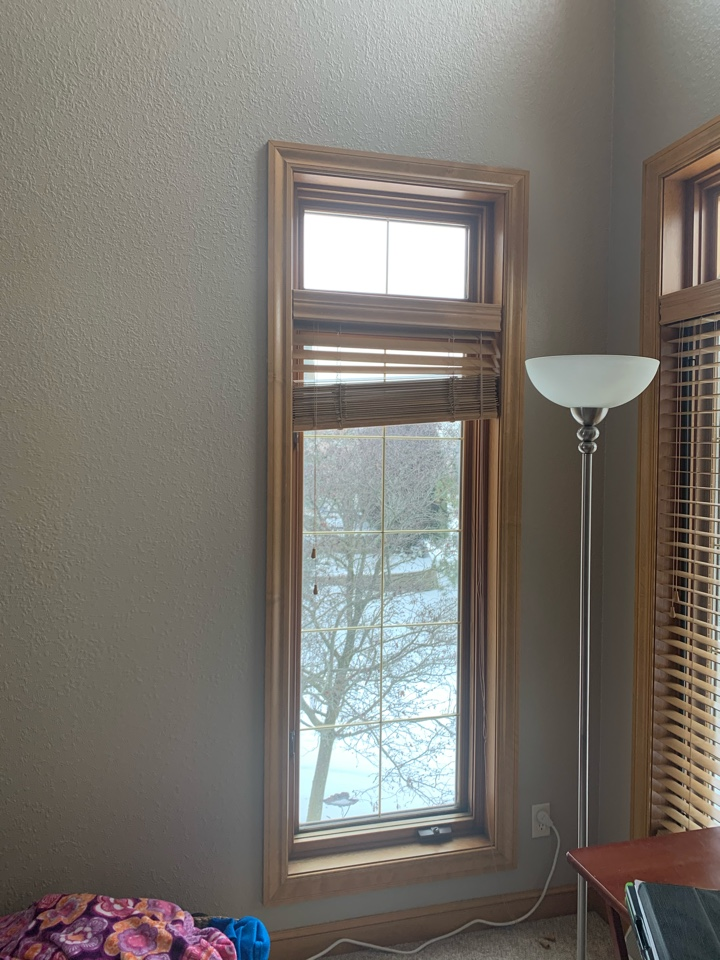 Brookfield, WI - Client who is having issue with a casement Windows no longer working properly.  Giving an estimate on new wood casement Windows.  At Abby windows we can find a solution to any issues you might be having!!