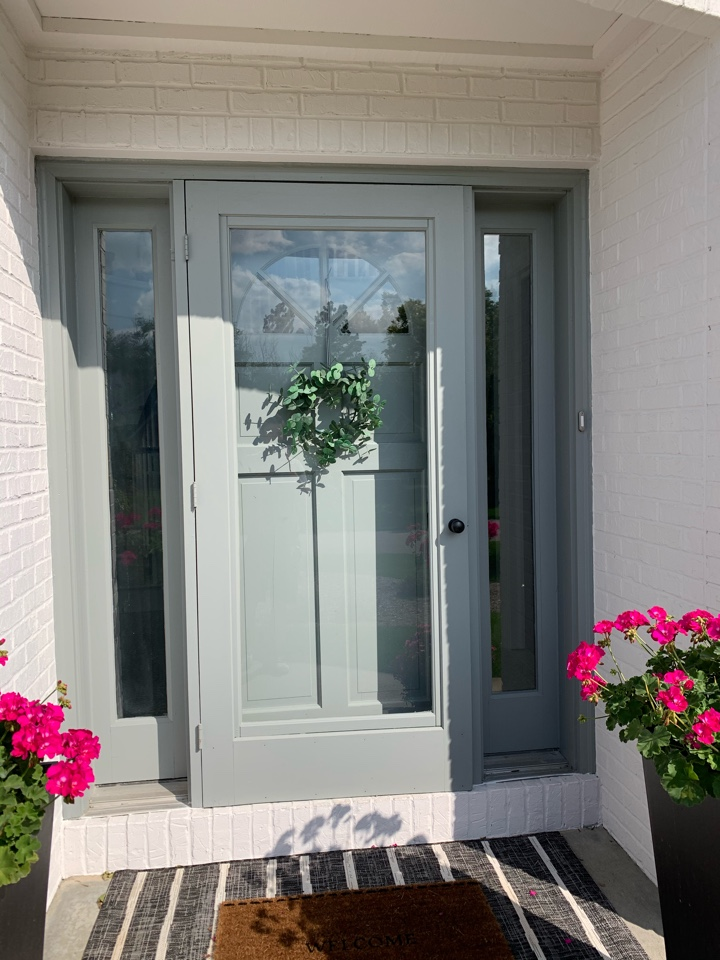 Brookfield, WI - Checking out new Provia entry doors in Brookfield!