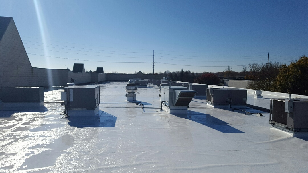 Commerce Charter Township, MI - 60 MIL TPO COMMERCIAL  ROOF JUST JUST COMPLETED!