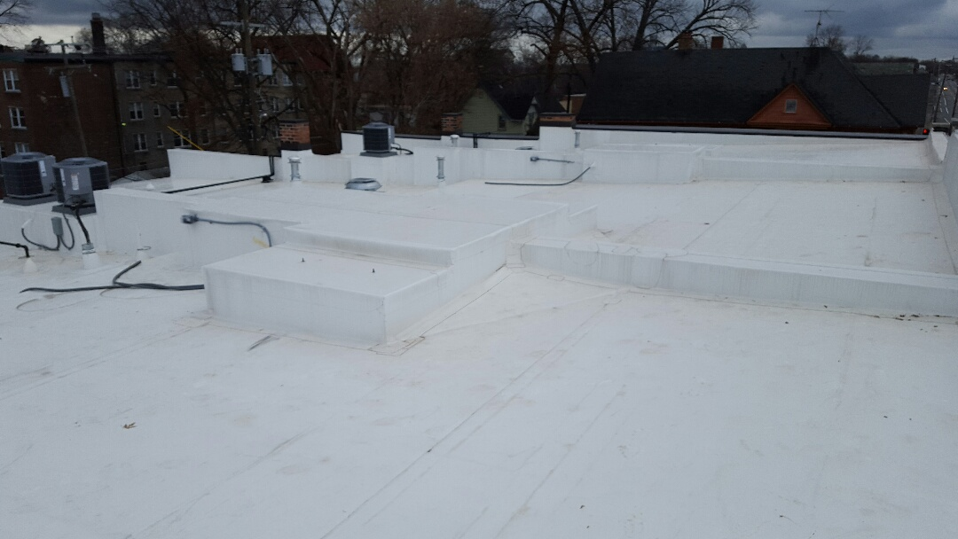 Detroit, MI - 60 MIL TPO COMMERCIAL ROOF JUST COMPLETED