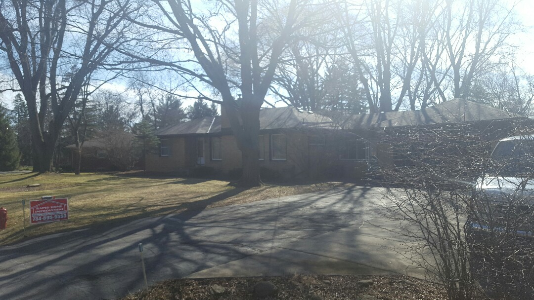 Farmington, MI - Tear off existing roof, install new plywood decking and LIFETIME ROOF SYSTEM!