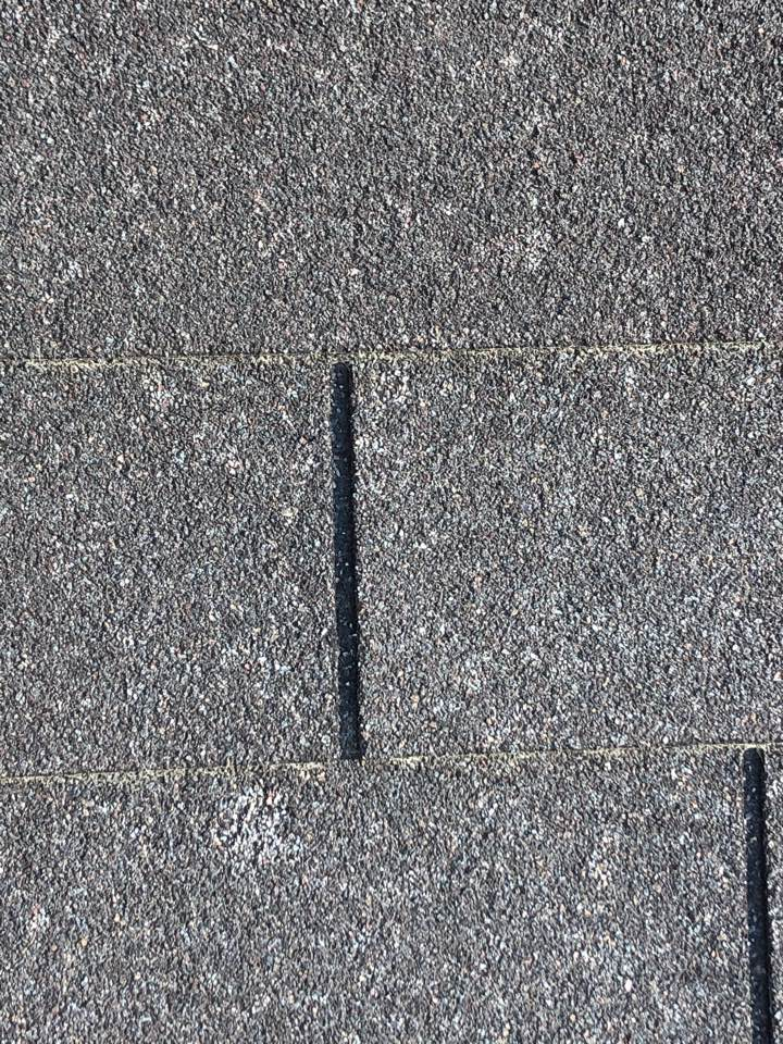 Houston, TX - While working on today's reroof a neighbor asked for us to check their roof. Upon inspection we discovered hail damage from recent storms. Call us today for your free inspection