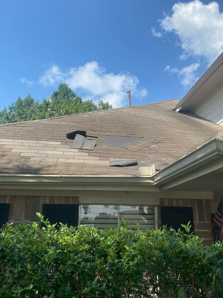 Houston, TX - If you have roof damage