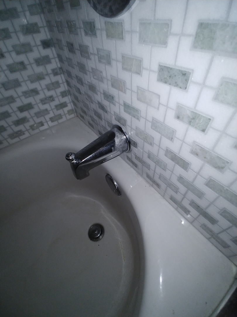 San Ramon, CA - Seal shower valve and adjust tub spout