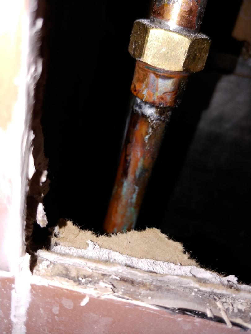 Concord, CA - Repair leak on shower valve