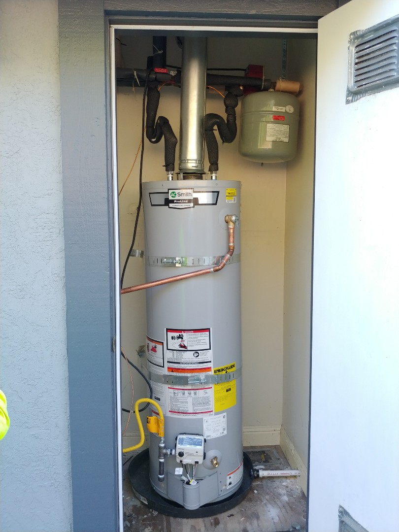 Mill Valley, CA - Installed new water heater