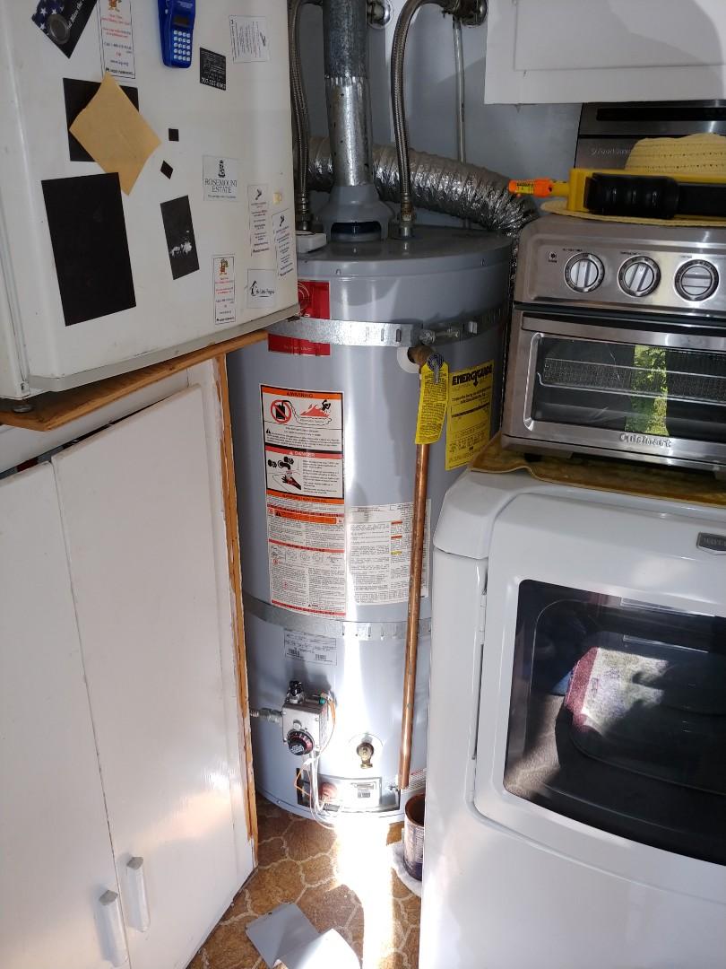 Napa, CA - Relit water heater