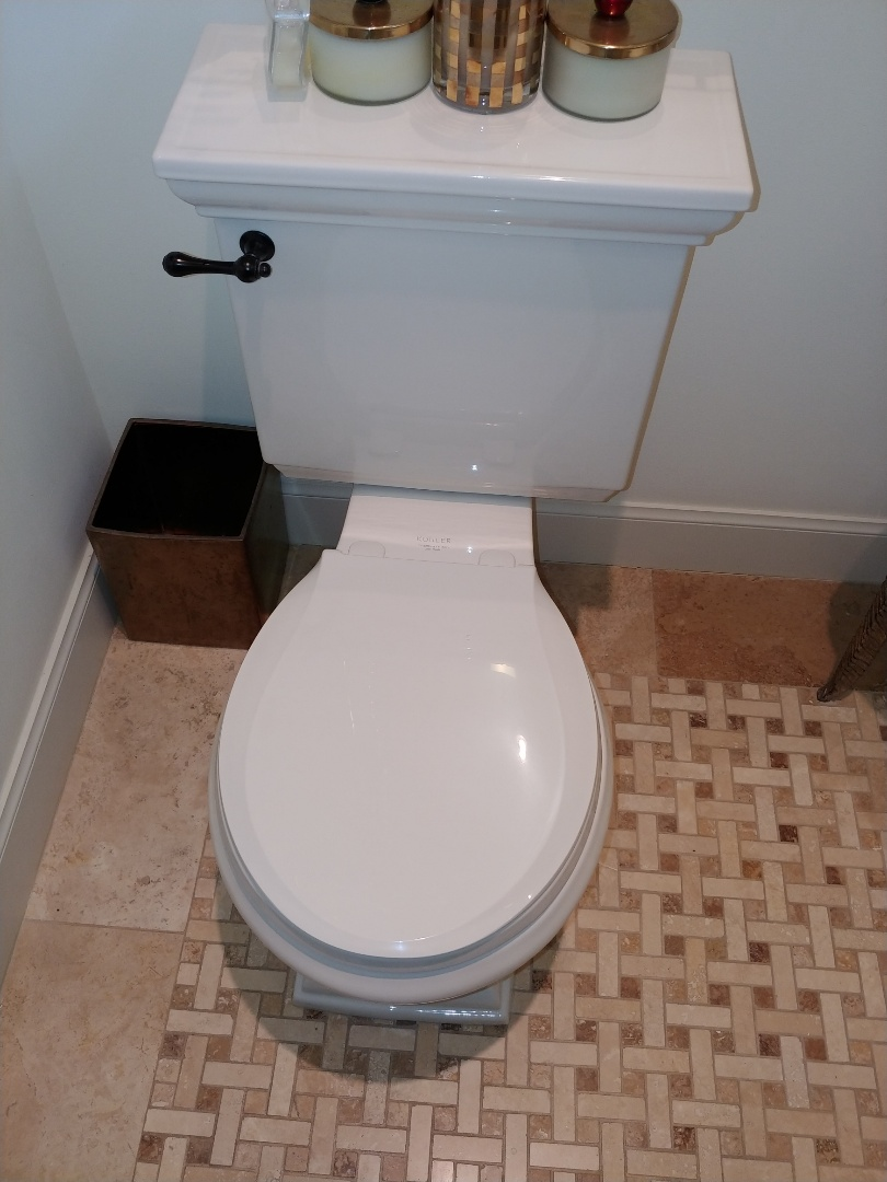 Mill Valley, CA - Replaced toilet seat