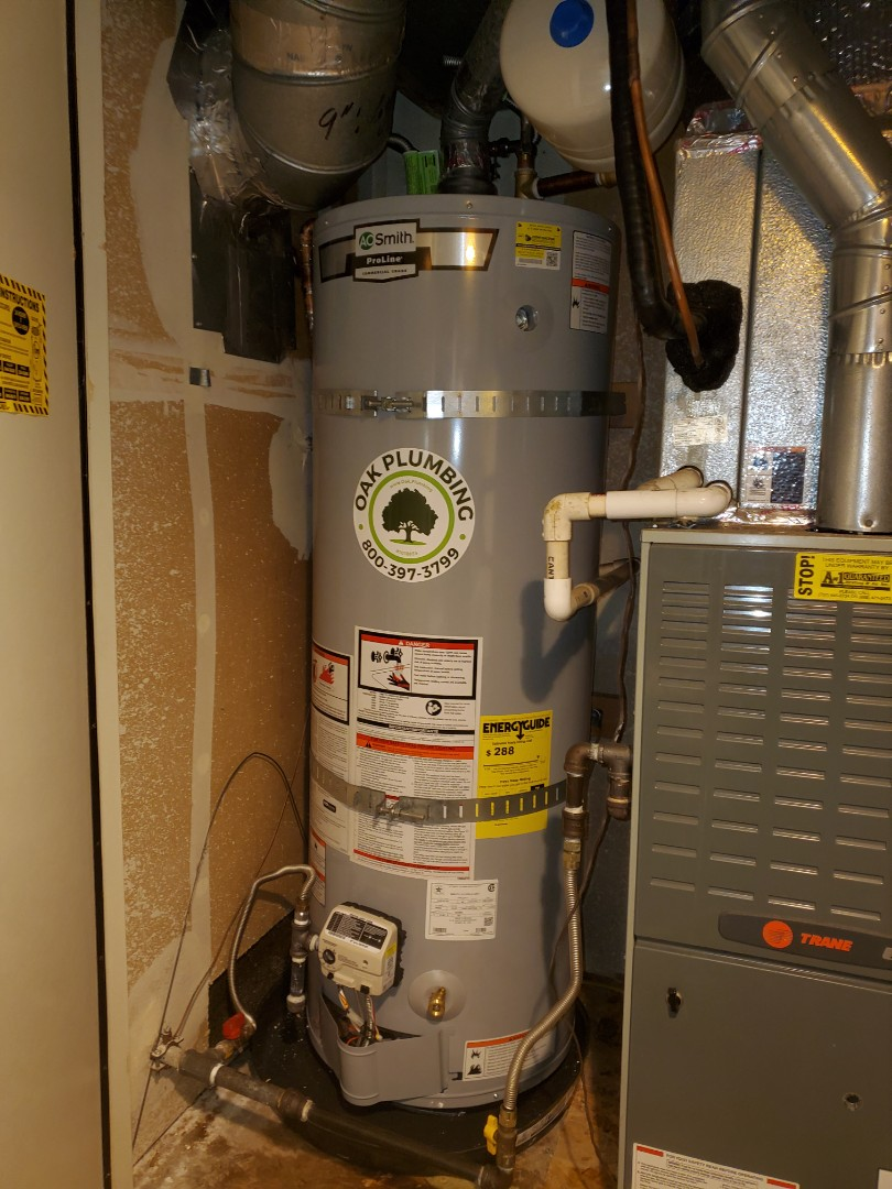 Vacaville, CA - Another water heater install