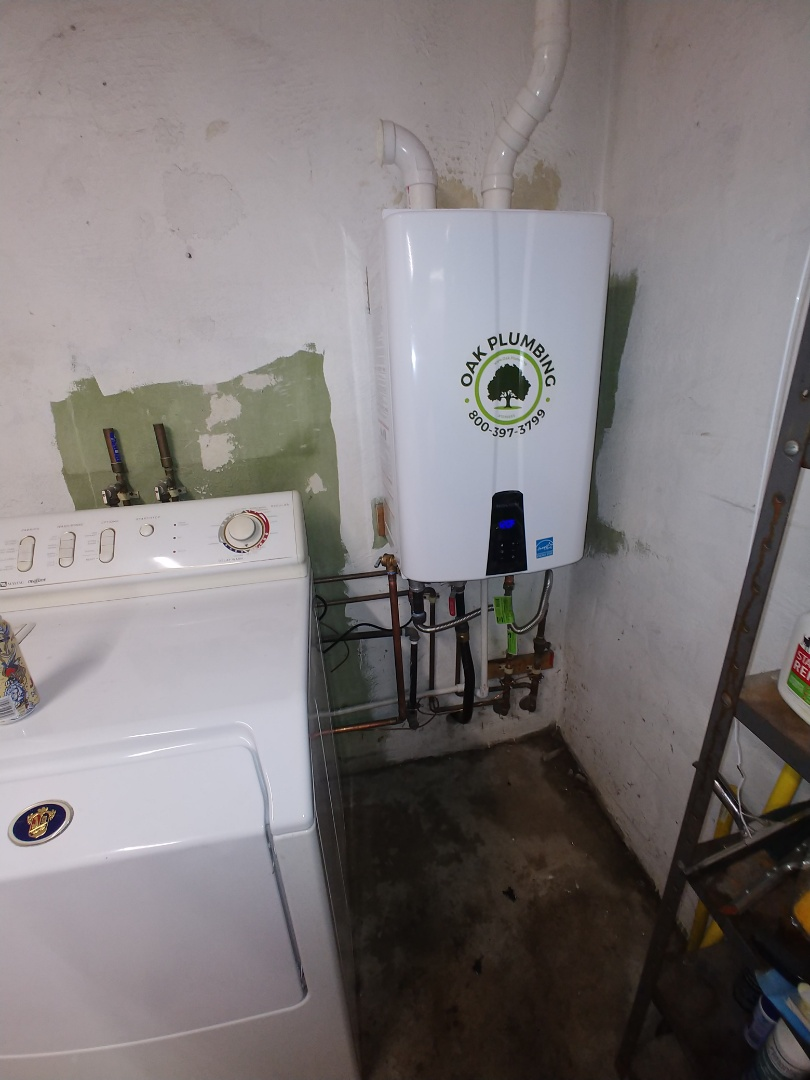Pleasant Hill, CA - Install tankless water heater