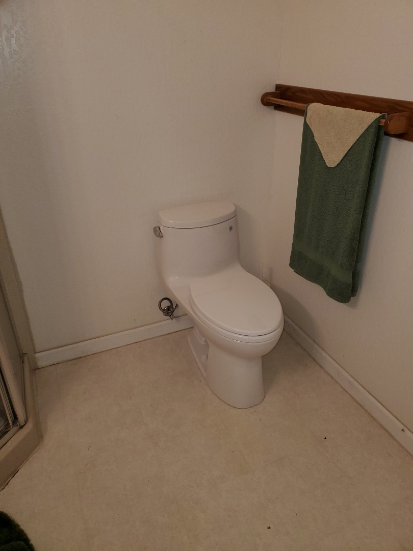 Lafayette, CA - Replaced a Toto one piece toilet