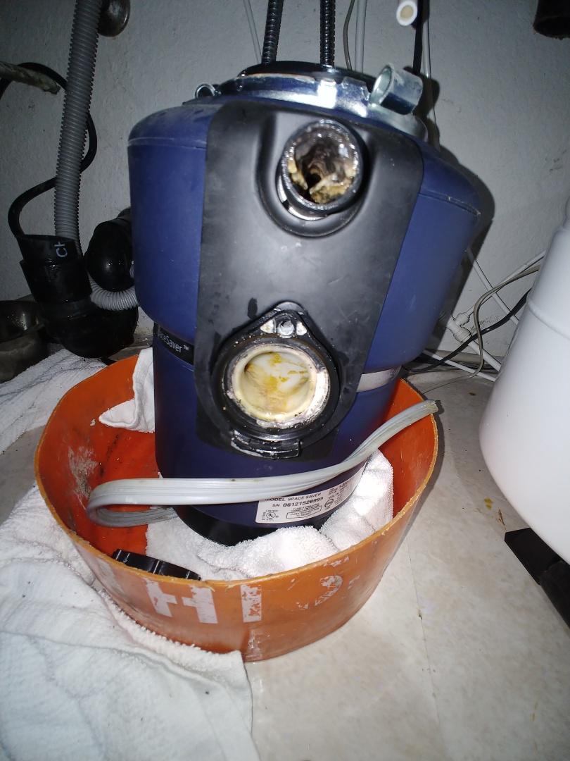 El Sobrante, CA - Replaced garbage disposal.
