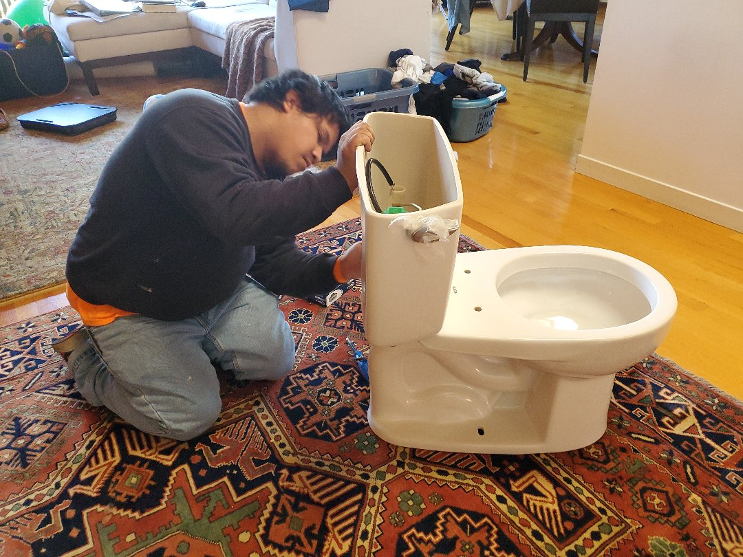 Berkeley, CA - Replacing a toilet