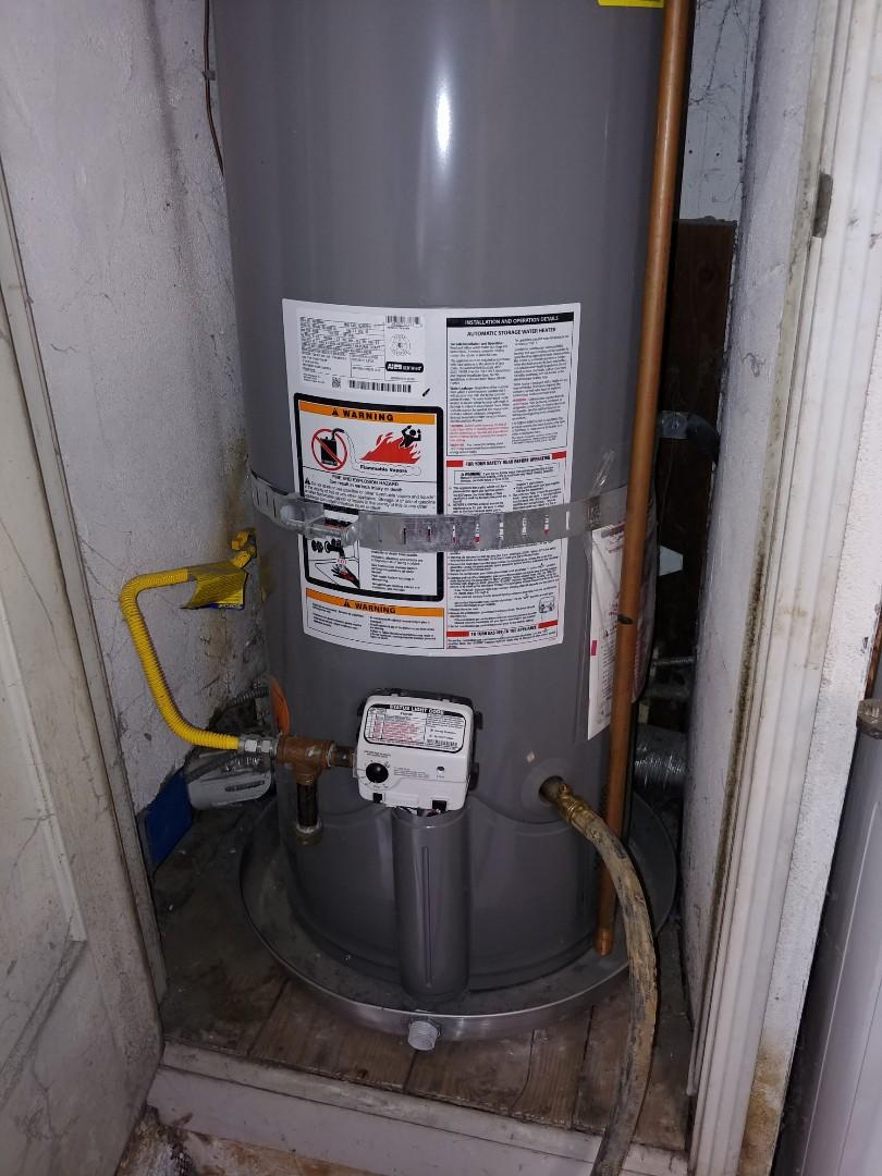 Richmond, CA - Water heater flush.