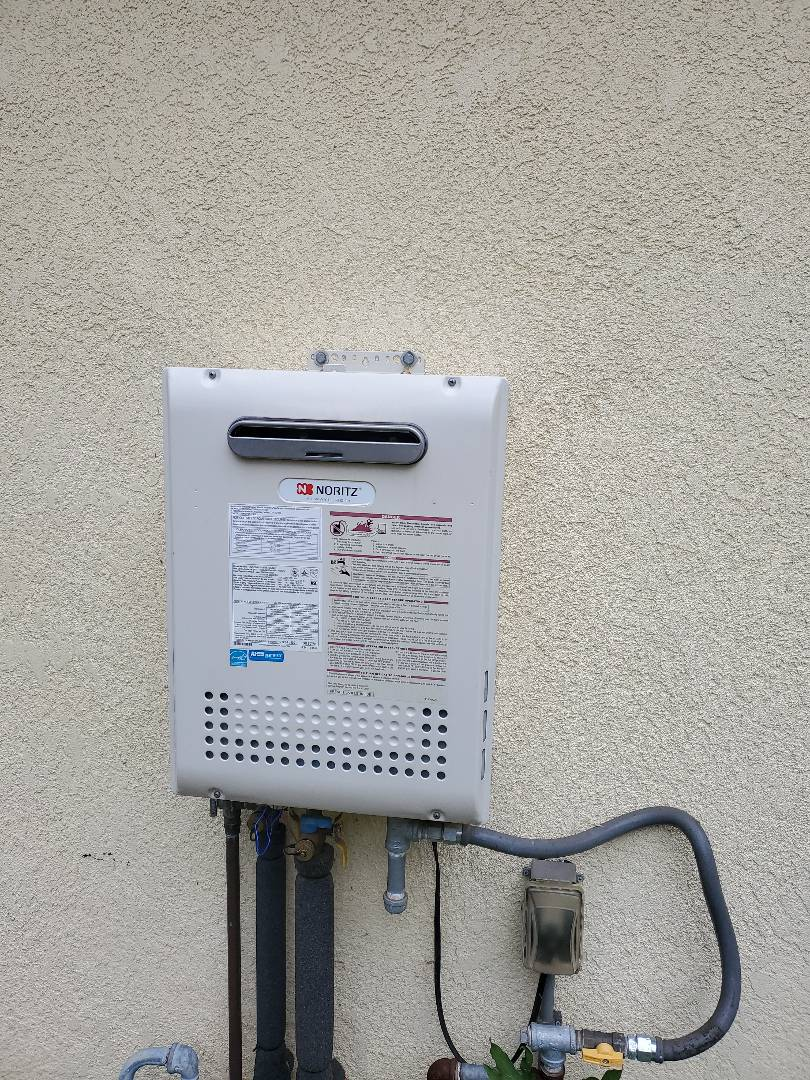 Folsom, CA - Repaired tankless water heater