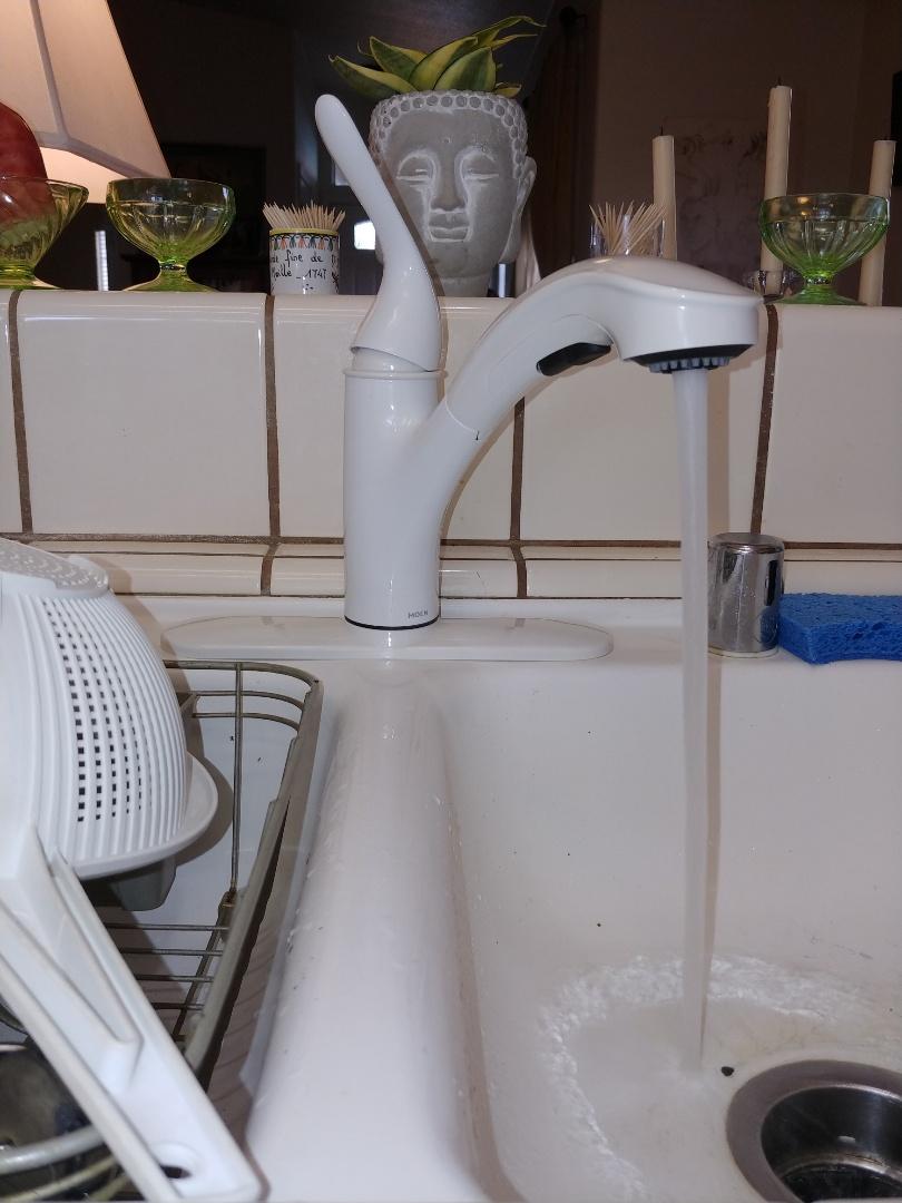 Davis, CA - Replaced kitchen faucet.