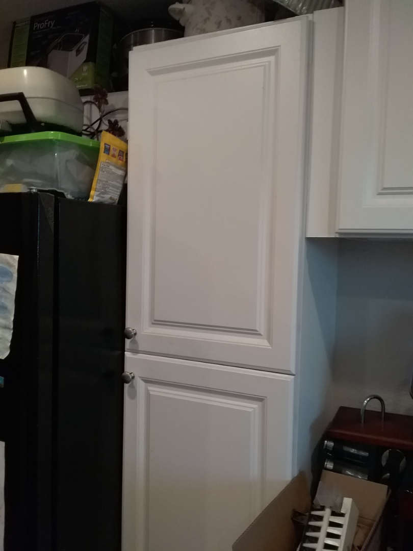 Fairfield, CA - Installation of a icemaker line to her fridge, so our customer can have ice cubes for her lemonade