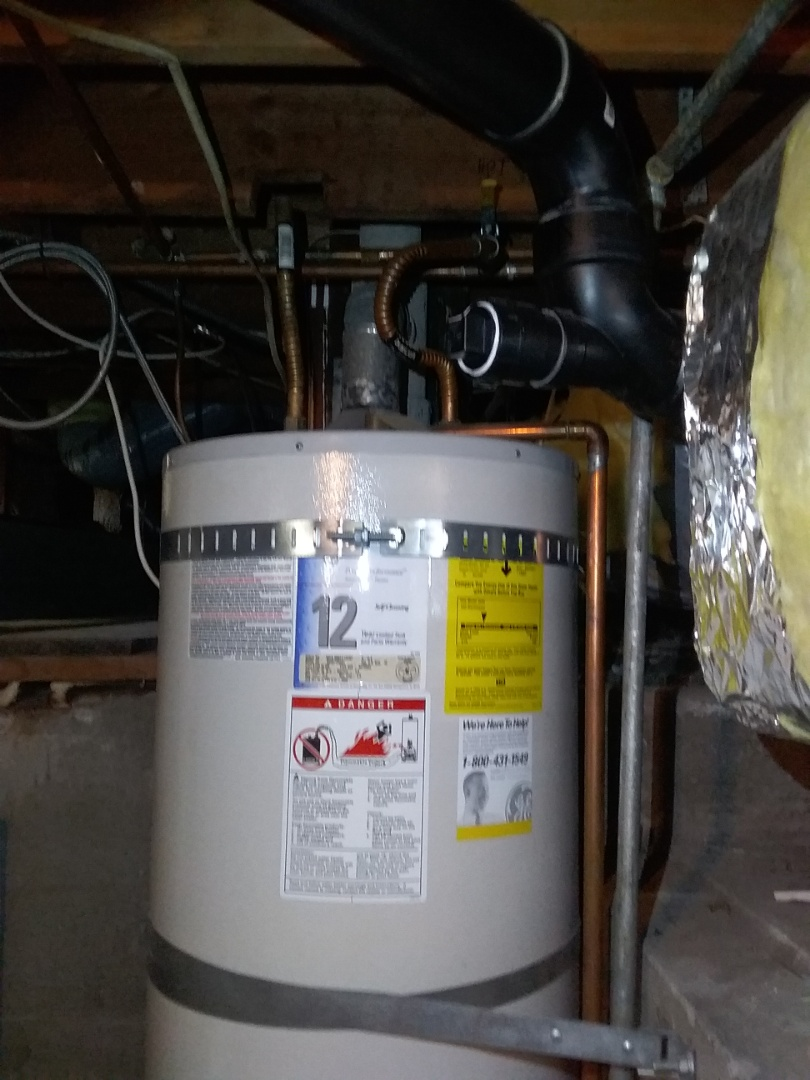 Bay Point, CA - Water heater in the basement