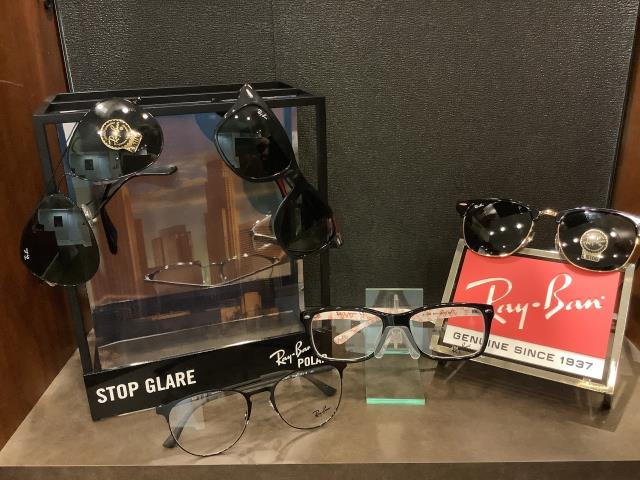 Rialto, CA - Just received some new Ray Ban Authentic Sun and ophthalmic glasses.